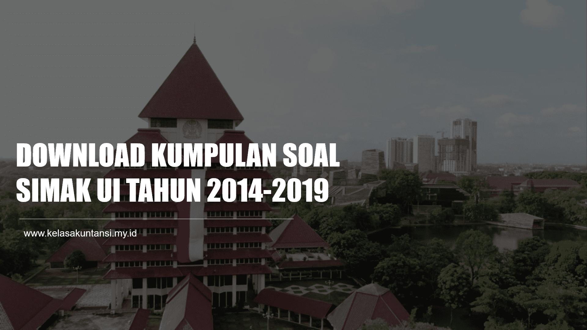 Download Kumpulan Soal Prediksi SIMAK UI 2022/2023