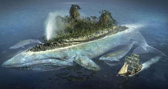 Denizci Sinbad ve balina