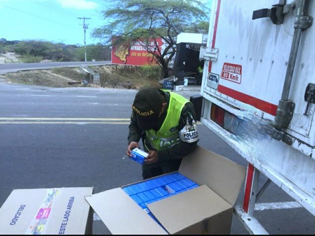 Entrega chimba de 76 mil 800 unidades de acetaminofén frustró la Policía