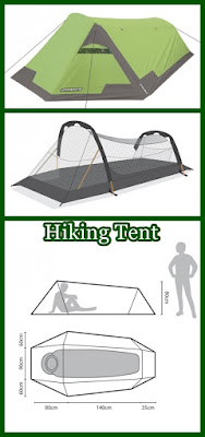 hiking tent design features