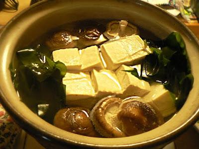 我が家の湯豆腐