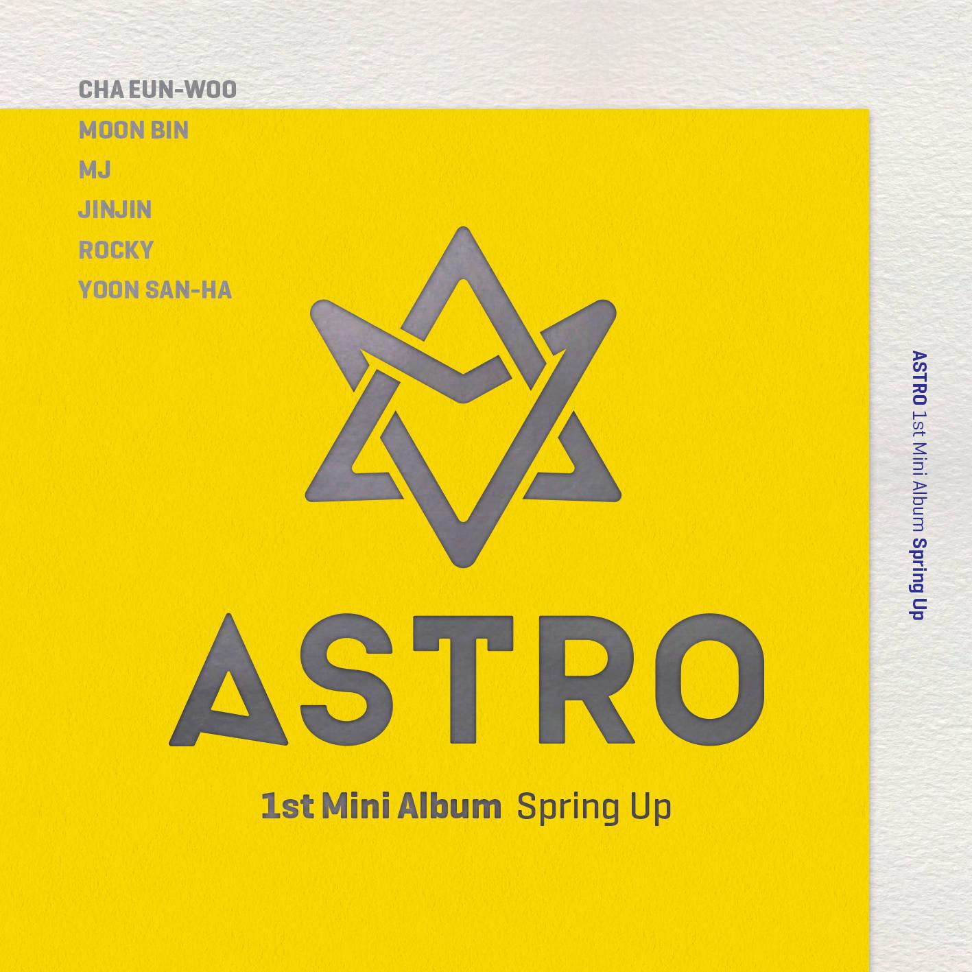 FREE DOWNLOAD] Mini Album: ASTRO (아스트로) - Spring Up (1st