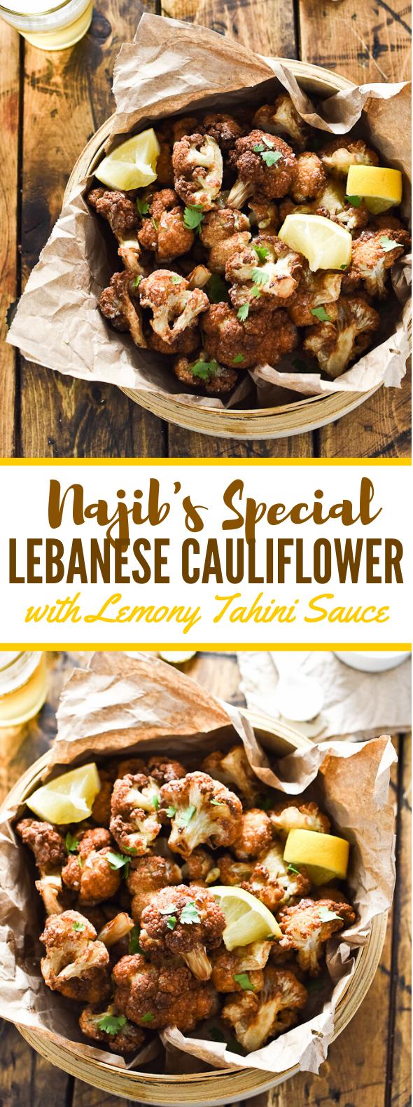 NAJIB'S SPECIAL LEBANESE CAULIFLOWER #vegetarian #healthy