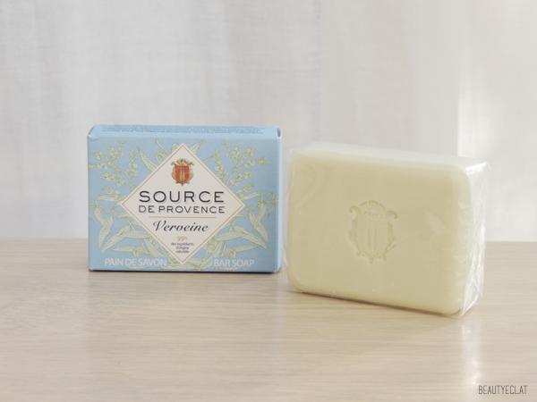 revue avis test source de provence lait corps savon shampoing pain de savon