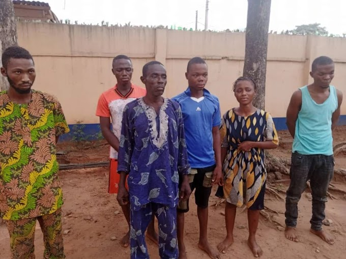 Father, children arrested for alleged kidnapping in Ogun