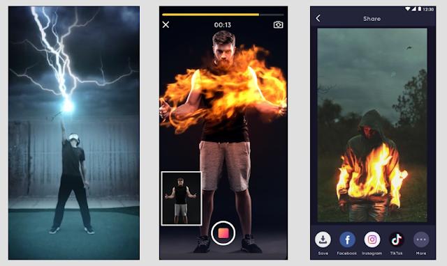 Magi تطبيق جديد يتيح لك إنشاء مقاطع فيديو ذات تأثيرات بصرية مذهلة