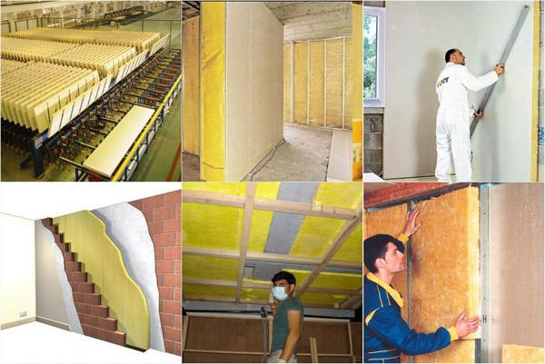 Material Glasswool sebagai Insulasi Bangunan