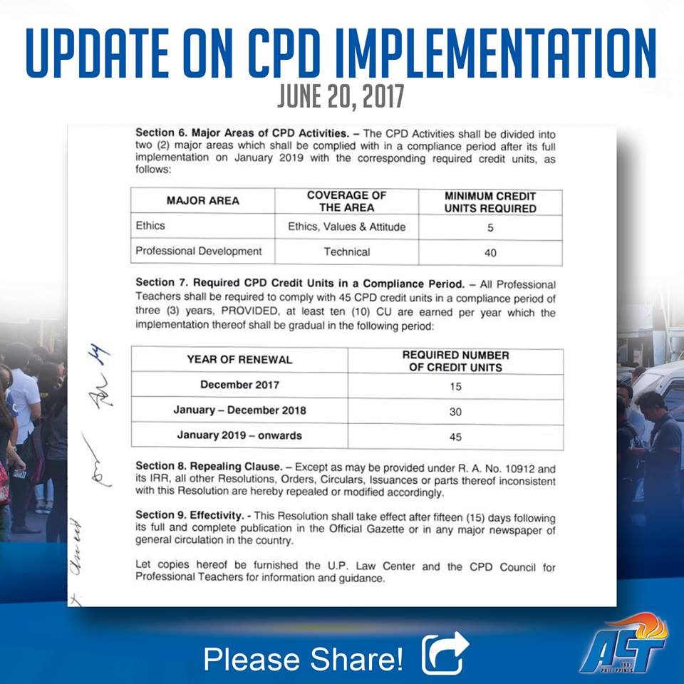 June 20 Update on CPD Implementation   DEPED TAMBAYAN PH