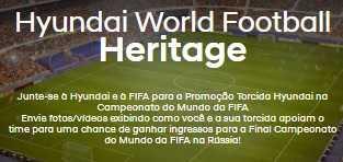 Cadastrar Promoção Hyundai Torcida 2018 Ingressos Final Copa do Mundo Rússia