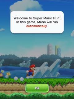 Mario run on android