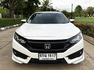 HONDA CIVIC FC 1.8EL 2017 สีขาว AUTO 6กฉ1617