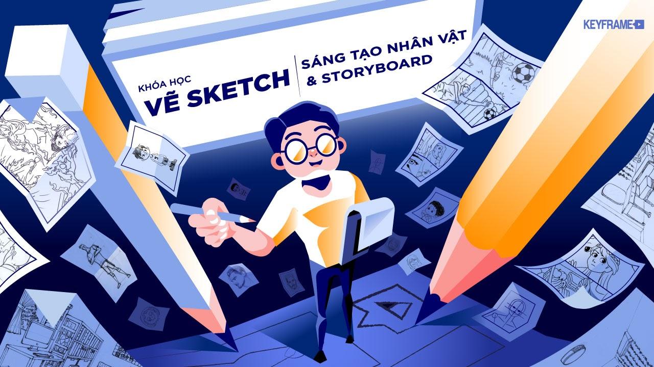 Share khóa học vẽ nhân vật hoạt hình cùng Hoạ sĩ Phan Nguyễn