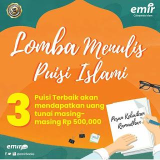 Lomba Menulis Puisi Islami