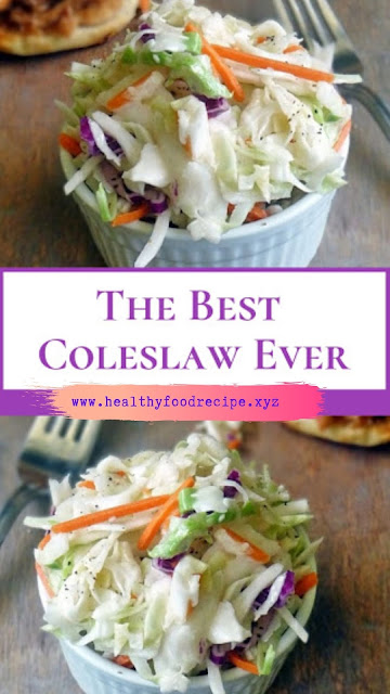 The Best Coleslaw Ever