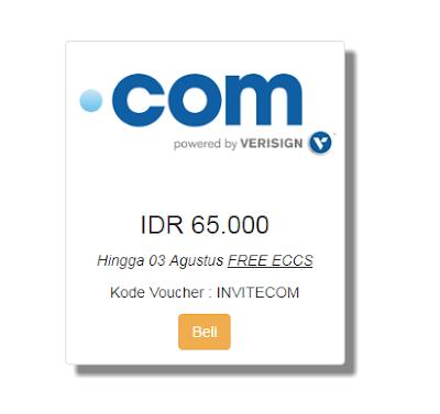 Promo Domain .Com Murah Cuma 65 Ribu di Qwords