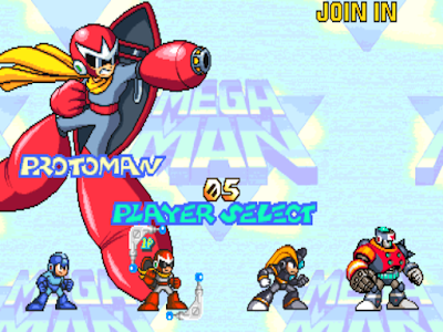 街機-洛克人2力量對決(Mega Man2)+金手指作弊碼,懷念的格鬥動作類型遊戲!