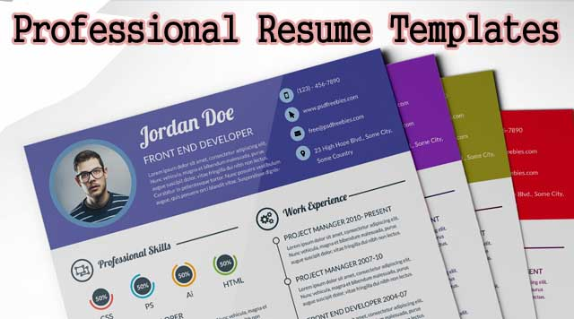 Download Curriculum Vitae CV Resume Templates - IT Classes Online