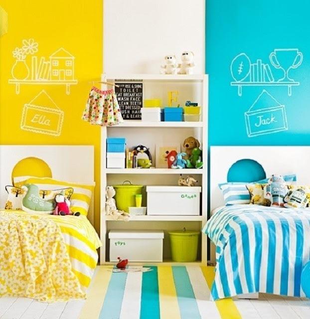 Dormitorios para ni o y ni a for Dormitorios para ninas 3 anos