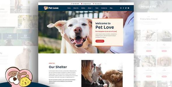 Best Animal Shelter Elementor Template Kit
