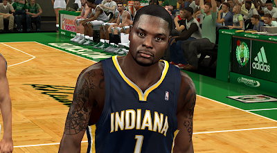 NBA 2K14 Lance Stephenson Face Mod