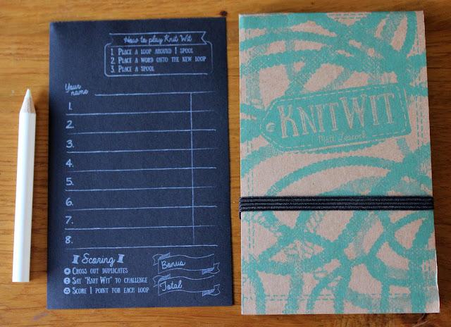 Knit Wit scoring pad