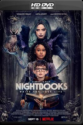 Nightbooks [2021] [Custom – DVDR] [Latino]