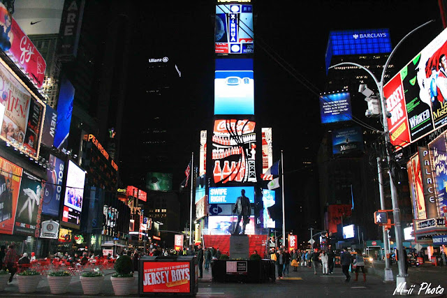 My Travel Background : Une semaine à New York : Nuit à Time Square