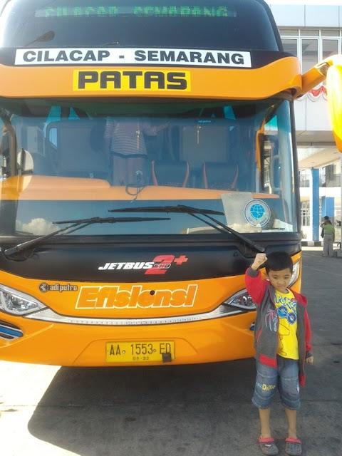 Pengalaman Pertama Naik Bus Efisiensi Cilacap Semarang