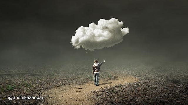 13 Clouds Alone - Photoshop Fantasy Manipulation Tutorial Tutorial