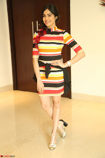 Adha Sharma in a Cute Colorful Jumpsuit Styled By Manasi Aggarwal Promoting movie Commando 2 (137).JPG