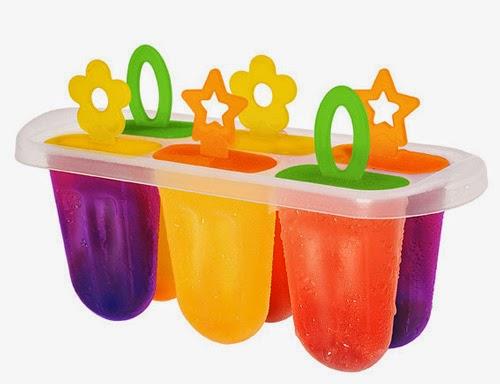 Picolés de frutas para refrescar no verão