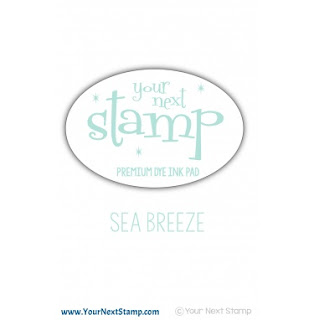 Premium Dye Ink Pad - Sea Breeze