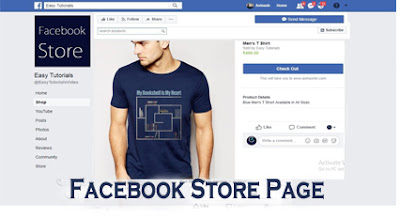 Facebook Store Page – How to Access Facebook Store - How to Create a Facebook Store