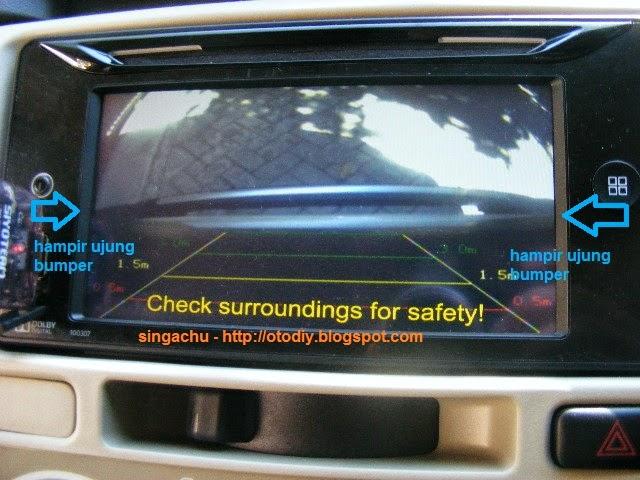 Kamera Parkir Grand New Veloz Xpander Vs Avanza Diy Test Pasang Camera Mundur Di Head Unit Orisinil Innova Type G Kijang