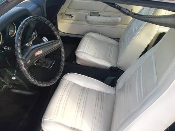 1970 Grabber Blue Mustang Sportsroof Fastback Auto