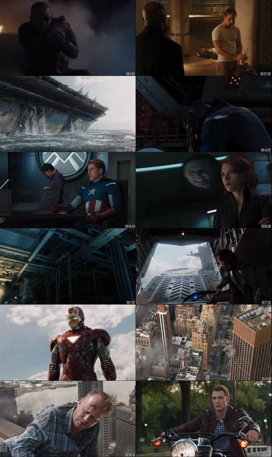 Screen Shoot The Avengers (2012)