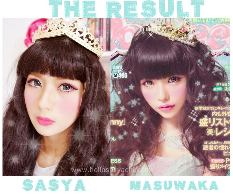 Sasyachi Beauty Diary: TSUBASA MASUWAKA - POP TEEN