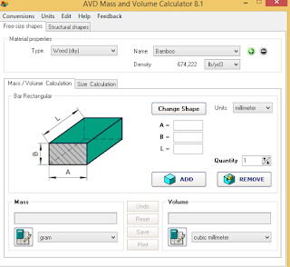 آلة حاسبة هندسية ممتازة جداً و مفيد في مجال الهندسة والرياضيات والهندسة المعمارية والمدنية AVD%2BMass%2Band%2BVolume%2BCalculator2