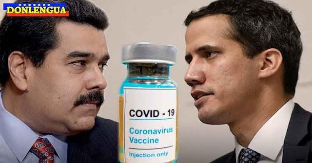 CHANTAJE | Régimen permitirá ingreso de vacunas de Guaidó si se quedan con el 20%