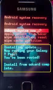 samsung galaxy y update zip download