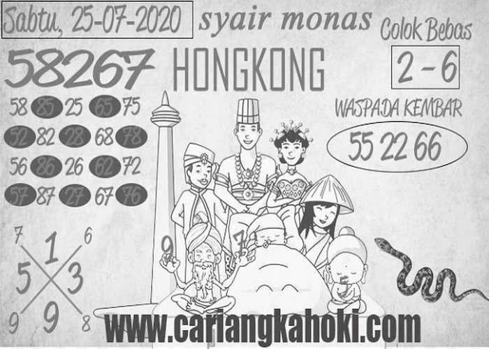Kode syair Hongkong Sabtu 25 Juli 2020 287