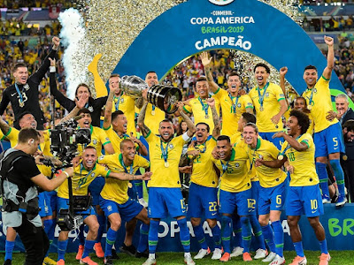 Brazil juara Copa America 2019!