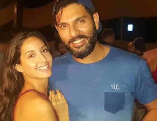 Nora Fatehi With Yuvraj Singh