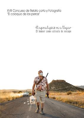 """Libro del 18 Concurso """"El coloquio de los perros"""" de relato corto y fotografía"""