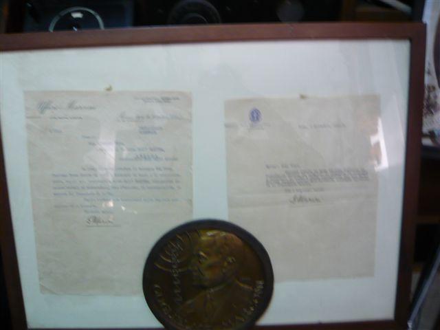 Due lettere autografe di Guglielmo Marconi