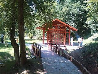 Japanski vrt u Vrnjackoj banji