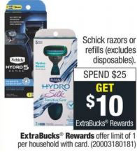 free schick at cvs couponers