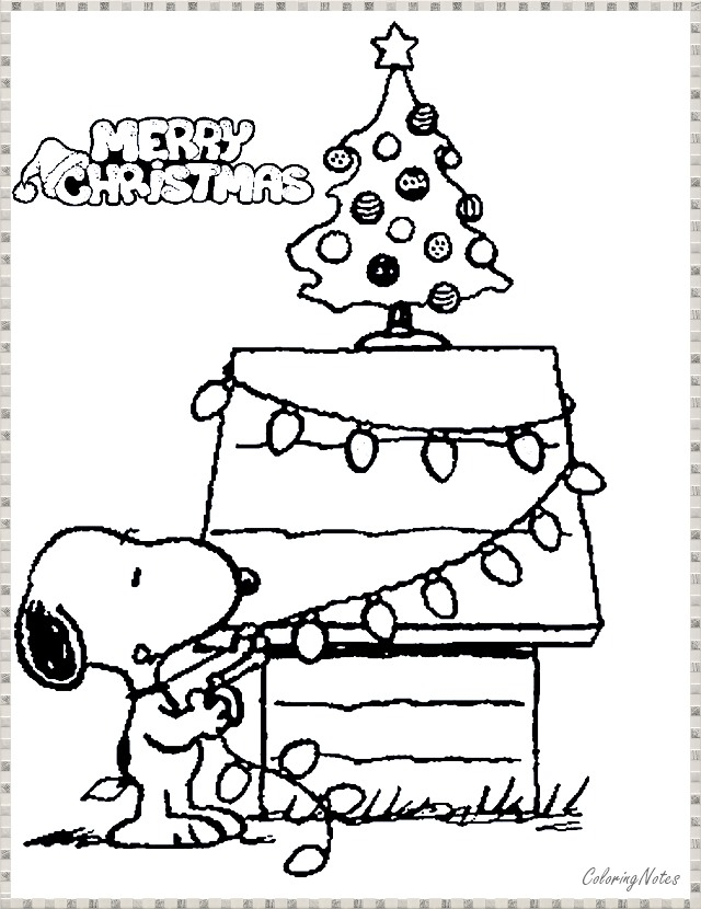 Charlie Brown Christmas Coloring Pages Funny For Kids Printable Coloring Pages For Kids Free Printable