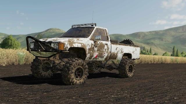 FS19 EXP19 84 Toyota Hilux v1.0