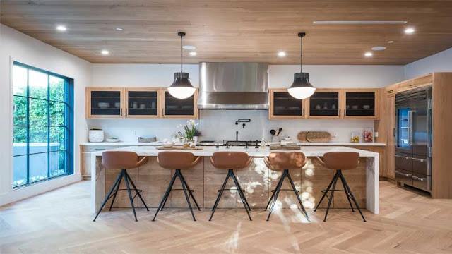 Desain ruang makan alami